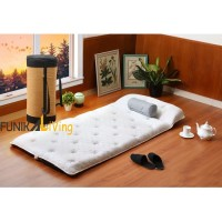 Quantum Quest Bed Travel Rebonded Latex Busa Gulung Lipat Tebal 90x190
