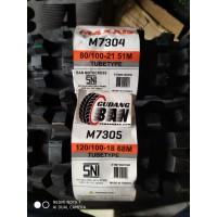 paket ban maxxis trail uk 80 100 21 dan 120 100 18 untuk motor KLX