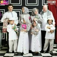 Nibras Sarimbit 61 Putih / Nibras Sarimbit Family / Baju Lebaran 2019