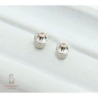 Terbaik Bayar Di TempatBR Anting Magnet Aksen Berlian Imitasi Tanpa