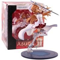 Action Figure Sword Art Online Yuuki Asuna Darah PVC