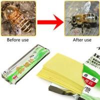 alat peternakan -Varroa Strip Fluvalinate Bee Mite Pro Acaricide Killi