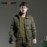 FREEARMY Brand Quality Jacket Men Military Jacket Windproof Army Fligh