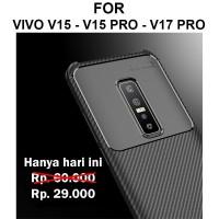 Case Vivo V15 - V15 Pro - V17 Pro casing cover armor AUTO FOCUS CARBON