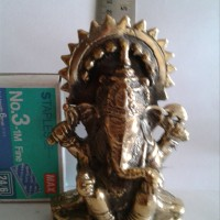 arca ganesha kuningan 11cm wanted stuff