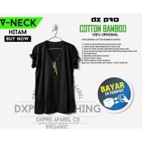 Katun bambu Cotton bamboo V neck size S-M-L-XL-XXL-XXXL