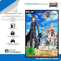 SAO Sword Art Online Hollow Realization Deluxe Edit DVD Game PC