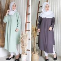 Blus muslim kekinian murah tunik baju atasan wanita harian