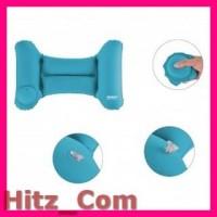 Romix Bantal Leher Mobil Travel Inflatable Car Pillow RH35 Blue