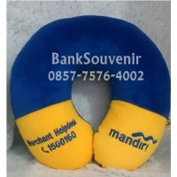 Souvenir Custom Bantal Leher murah