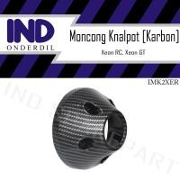 Tutup-Cover-Pelindung Ujung-Moncong Knalpot Karbon-Carbon Xeon RC-GT
