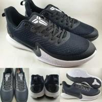 Sepatu Basket Nike Kobe Mamba Focus Low Black White Hitam Putih