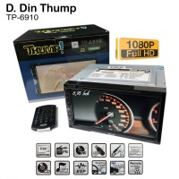 THUMP TP-6910 - 6.5 Double Din DVD/TV Monitor - Car Audio Systems