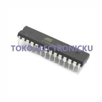 AVR MICROCONTROLLER ATMEL ATMEGA8-16PU ATMEGA8 DIP 28 AU74