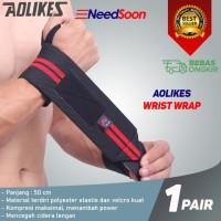 ORIGINAL AOLIKES Wrist Wraps Strap Support 50CM Weightlifting Gym