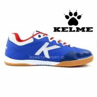 Sepatu Futsal Kelme Feline Evo Biru Putih Termurah PASTI ORI