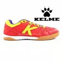 Sepatu Futsal Kelme Feline Evo Red Yellow Termurah PASTI ORI