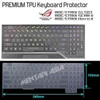 Keyboard Protector ASUS ROG Strix GL503 GL504 Hero-II Scar-II - CLEAR