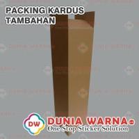 Tambahan Packing Kardus Untuk Sticker ORACAL 3M KIWALITE Meteran Dll