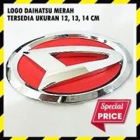 Emblem Daihatsu Merah