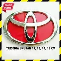Emblem Toyota Merah
