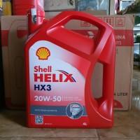 OLI SHELL HELIX HX3 20W-50 ORIGINAL