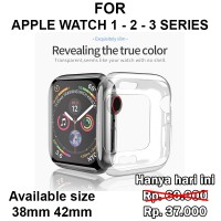 Tpu Plating case Apple Watch 1 - 2 - 3 iWatch casing cover 38mm 42mm