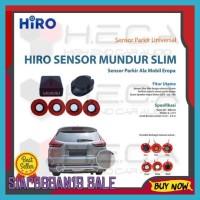 Terbaru Hiro Sensor Mundur Slim Gaya Mobil Eropa Parking Sensor Parkir