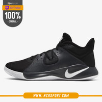 Sepatu Basket Nike Fly.By Mid Black White Original CD0189-001
