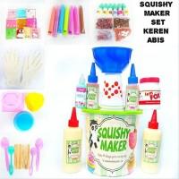 MURAH Paket Alat dan Bahan Membuat Pembuat Pembuatan Mainan Squishy