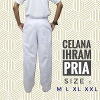Baju Koko Set Pria Murah Celana Pangsi Panjang Putih Haji Umroh