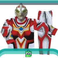 DISKON Baju Anak Kostum Topeng Superhero Ultraman Go - Size 4 Keren