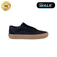 Sepatu Vans Old Skool Blue Black Gum ORIGINAL