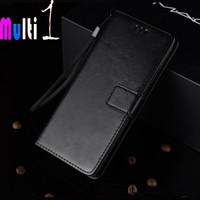 Leather Case Samsung Galaxy J2 Core - Hitam
