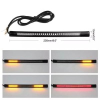LED Variasi Rem Sein Lampu LED DRL Flexible Stoplamp 20 cm 48 mata Uni