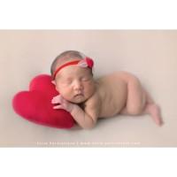 LOVE YOU Pillow Newborn Photography Props Baby Bayi Bantal