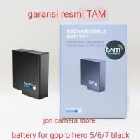 Gopro rechargeable battery hero 5 6 7 black original