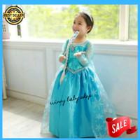 gaun baju anak frozen - Gaun pesta anak - baju prozen