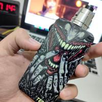 Backdoor V3 Aluminium Custom Desain Joker