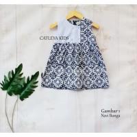 Baju Baby Dress Batik Anak Perempuan Model 3