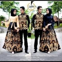 Baju Batik Couple Gamis Anak Muda Dan Keluarga Untuk Pesta Model