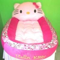 Budi9 Kasur Bayi Karakter Boneka Hello Kitty Motif Polkadot