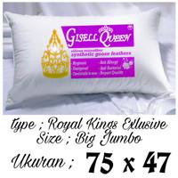 Bantal Gisell Queen bantal hotel empuk besar type royal kings termurah