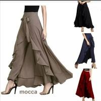 Celana Rok Bahan Panjang Wanita model Fashion