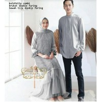 Baju Couple Muslim KOKO Pria $ Dress Wanita