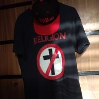 the shirt band Bad RELIGION
