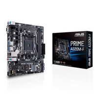 Asus PRIME A320M-F (AM4, AMD Promontory A320, DDR4, USB 3.1, SATA3)