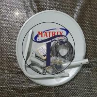 Set Antena Dish Parabola Matrix 45 cm .