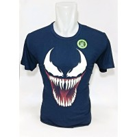 Baju Kaos Glow in the Dark Venom Superhero Premium Quality