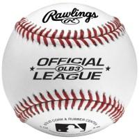 Paling Murah Rawlings Official League Logo Baseball Bola Ball Terhot